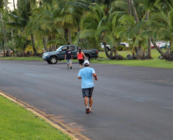 jogging Hilo