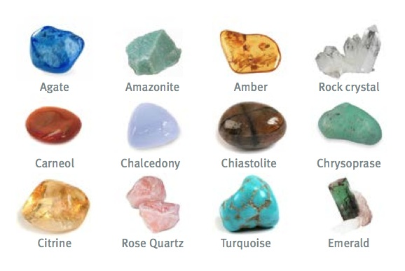 Types Of Stones Quartz : Bath treatments