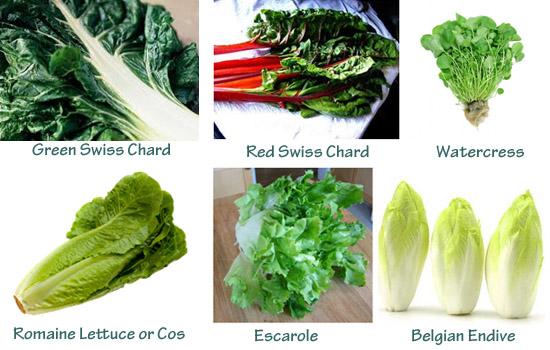 Green Juice Vegetables