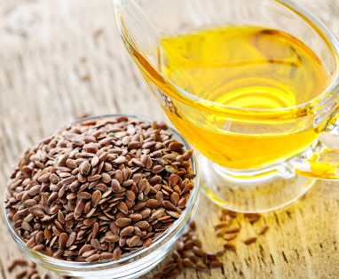 Flaxseed Oil for Oxygenation