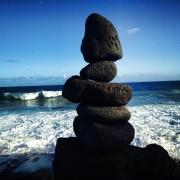 zen rock beach