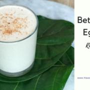 raw vegan egg nog recipe for the holidays